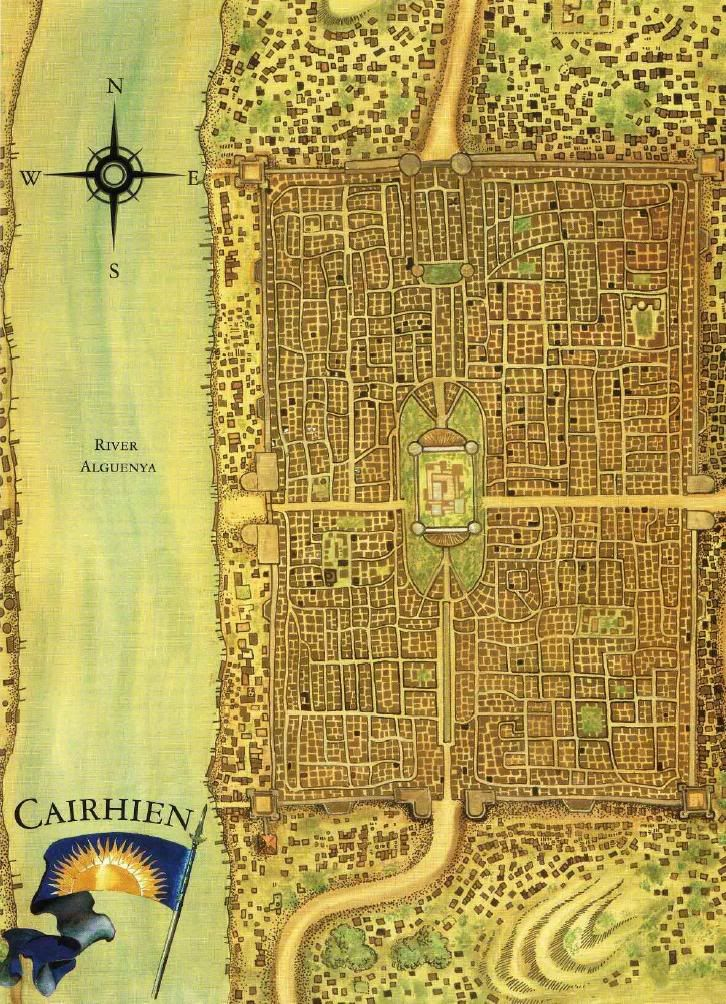 Cairhien, a country in the Westlands, from Wheel of Time | Art ...