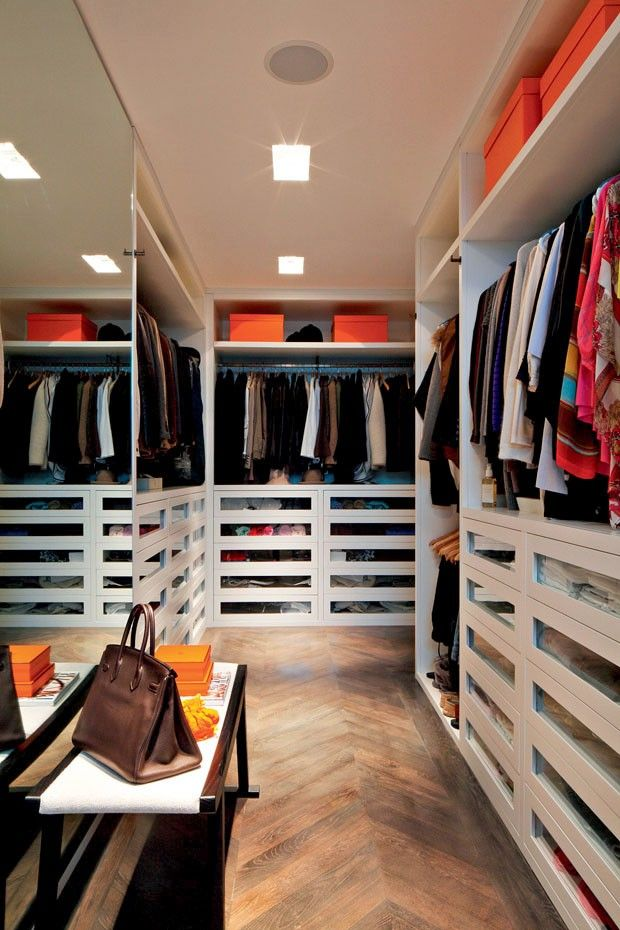 10 closets decorados (e organizados!)