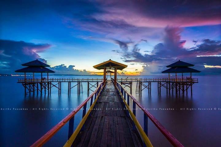 The Old Kenjeran Beach, Surabaya, Indonesia