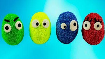 Surprise eggs Masha and the Bear Peppa Pig Minions and others learn colors for Kids http://video-kid.com/9207-surprise-eggs-masha-and-the-bear-peppa-pig-minions-and-others-learn-colors-for-kids.html  Учим цвета по-английский и открываем смешные,необычные сюрпризы с героями мультиков!
