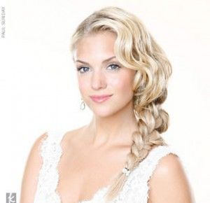 wedding makeup ideas for blondes | Wedding hairstyles for girls with blonde hair