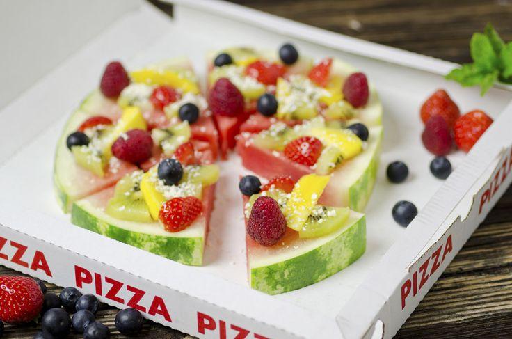 Come fare la pizza di anguria