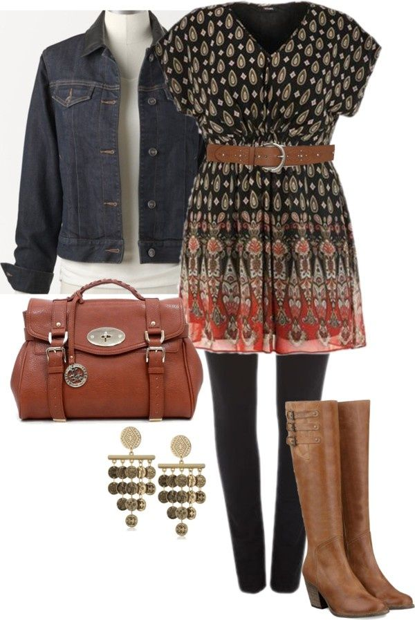 Everyday Casual - Plus Size | Outfits - Cone on! Don't belt plus sized ladies! Give us something flattering!