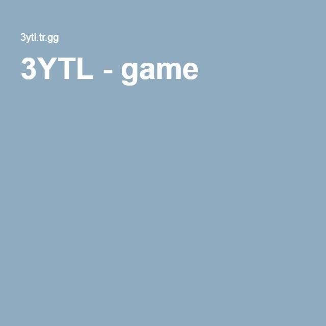 3YTL - game