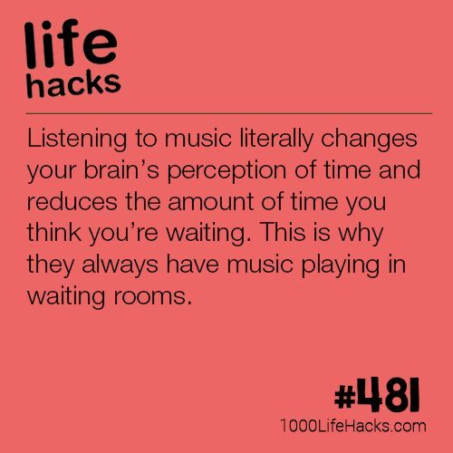 Why There's Always Music In Waiting Rooms (1000 Life Hacks)