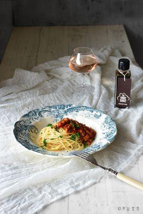【注目調味料:燻製醤油】でブランチつまみ対応型 我が家のミートソース レシピ レシピブログ