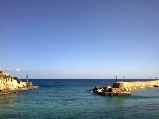Tricase Porto - Salento, south of Italy. Can you imagine the world without sea?