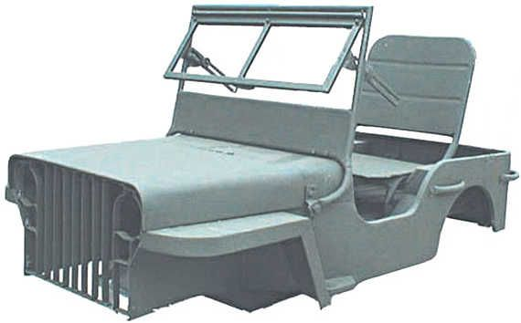 OMIX-ADA Mini MB Body Kit For ATV/Go Kart/Riding Lawn Mower Chasis | Quadratec