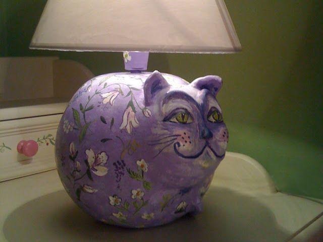 Maluj mi: Lampa Kot i inne Koty i Kocurki