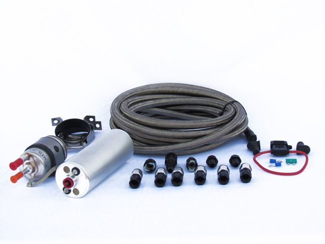 Ls Vortec External Fuel Pump Kit High Horsepower Efi