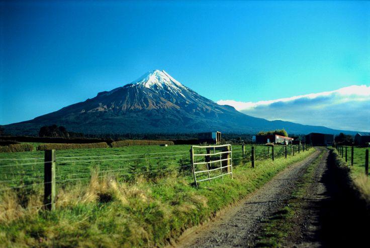 Mt Taranaki New Zealand