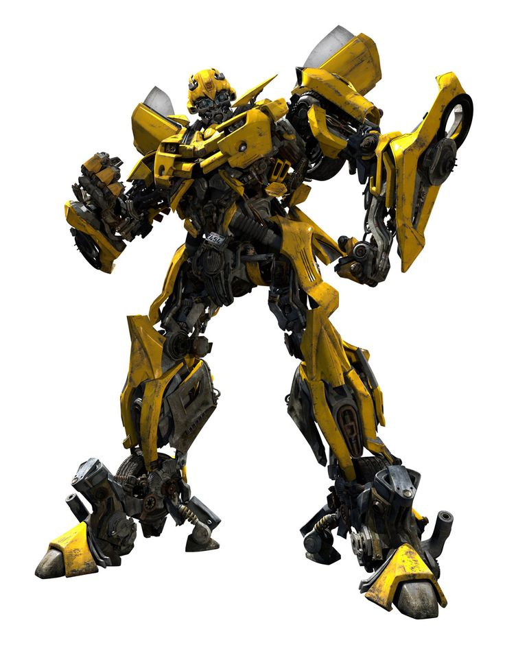 Transformers :  Bumblebee the young scout of the Autobots and best friend of Sam