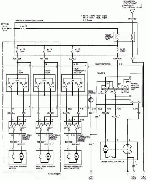 1995 Honda Civic Engine Wiring Diagram