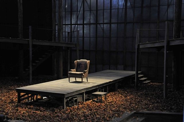 """""""King Lear"""" - Set Design by Ralph Funicello"""