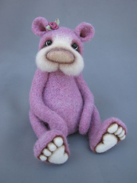 *NEEDLE FELTED ART ~ Blueberry Creations .... Photo Gallery