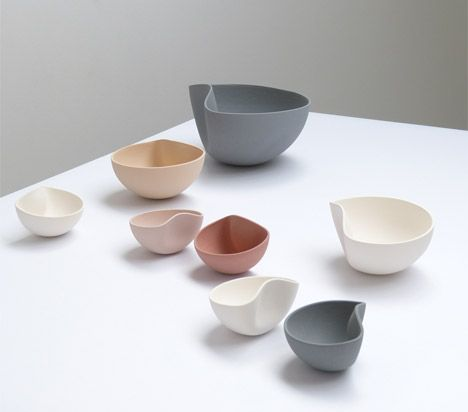 Belgian Designer Ilona Van Den Bergh S Ceramic Bowls Are Slip Cast In Perfect Half Spheres And Reshaped While Still Pliable To Create One Off Pieces