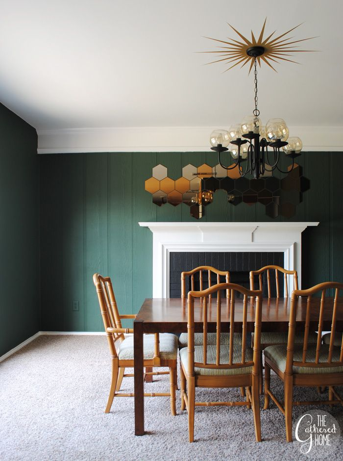 Dark Green Dining Room Design Ideas Remodels Photos: 17 Best Images About INTERIORS // Dark Green Walls On