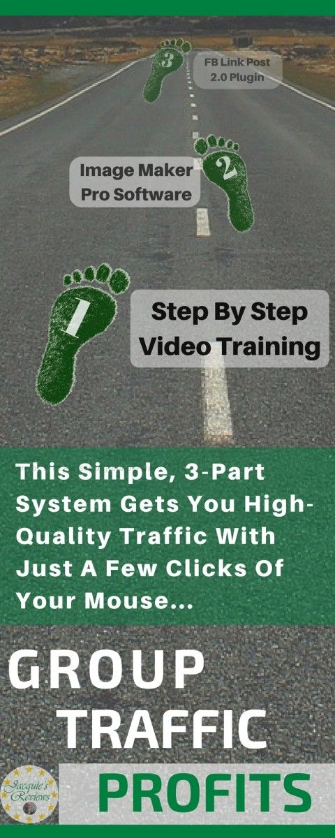 This Simple, 3-Part System Gets You High-Quality Traffic With Just A Few Clicks Of Your Mouse...Get high-converting traffic in ANY niche...Easily turn traffic into hundreds or even thousands of dollars per week...You get TWO easy-to-use software tools PLUS step-by-step training...Use Coupon Code gtp5off for your Discount. #HowToIncreaseWebsiteTrafficForFree #HowToDriveTrafficToYourWebsiteForFree