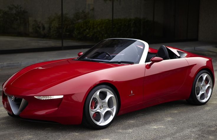 What the 2015 Alfa Romeo Spider might look like. Let's hope so.