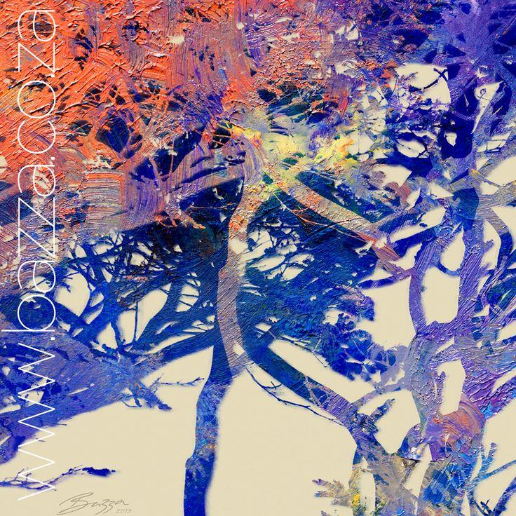Tree Blues 2 - Digital decore @ www.bazza.co.za