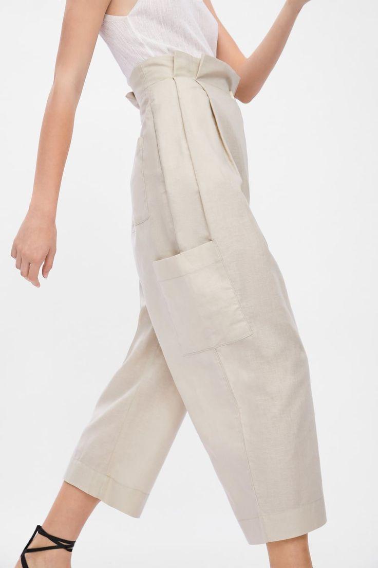 Kruvaze Kargo Pantolon Kargo Kruvaze Pantolon Celana Wanita Pakaian Model Gaya Model Pakaian