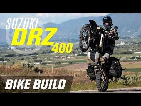 (69) Suzuki DRZ 400 Adventure Bike Build - YouTube