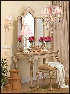 Like the shabby chic paint effect and pink and cream colours                                                                                                                                                                                 More