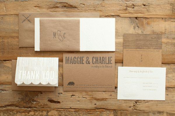 25 Gorgeous Letterpress Wedding Invitation Ideas | StyleCaster