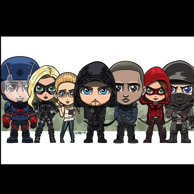 Lordmesa Art — yasmimplech:   lordmesa-art:   Team Arrow!!!...