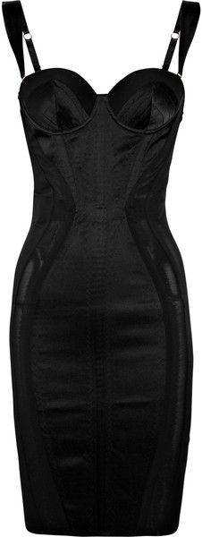 Don't think i'd wear this but its gorgeous. AGENT PROVOCATEUR Zelma Satin Contour Dress