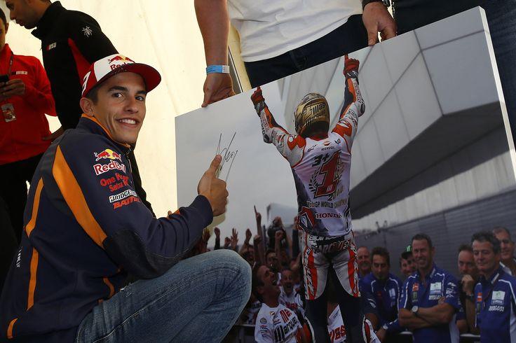 https://flic.kr/p/wYhsog | Marc Márquez. GP G. Bretaña 2015. MotoGP.