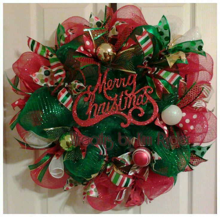 Merry Christmas wreath 259 best Christmas Wreaths
