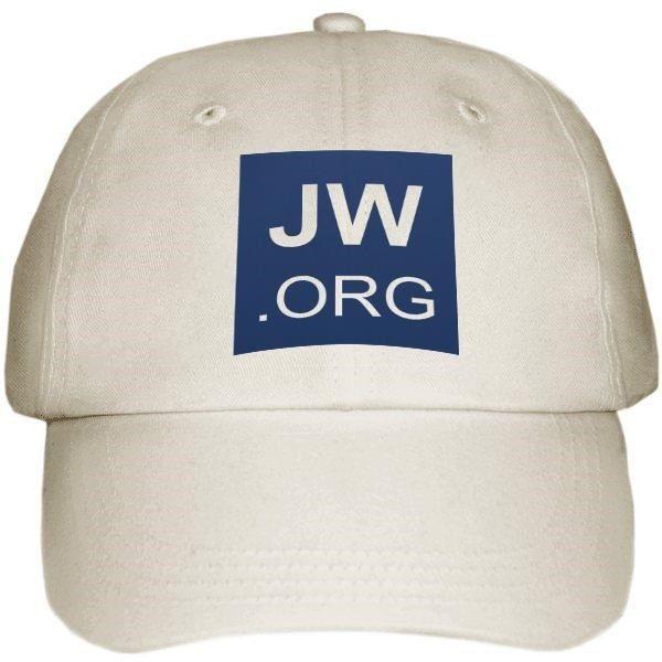 Unisex JW.org Baseball Cap Hat Jehovah's Witnesses Gift White Khaki Adjustable #Unbranded #BaseballCap