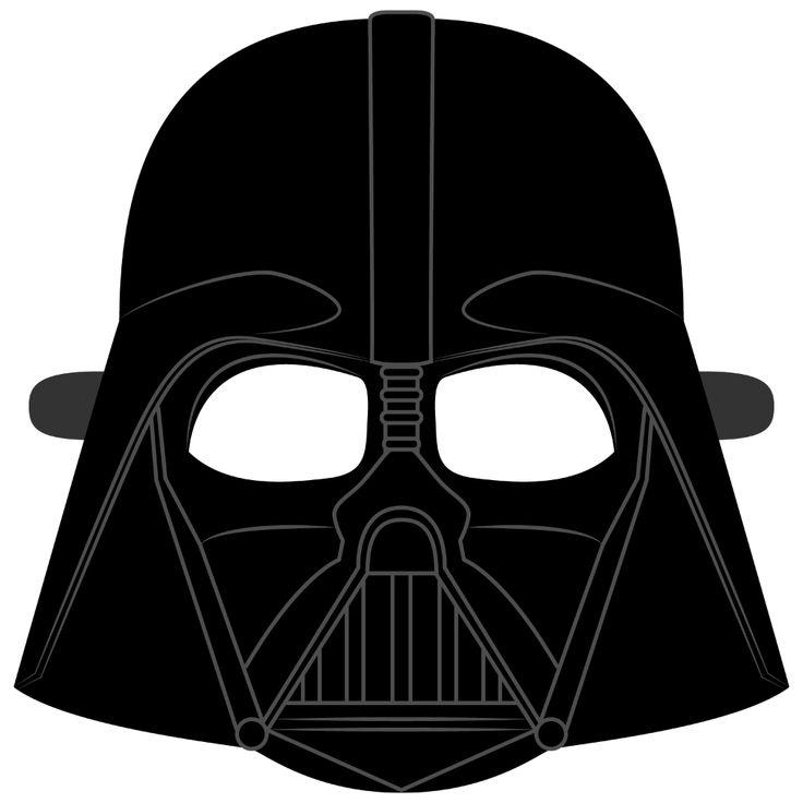 darth vader helmet mask template  free printable