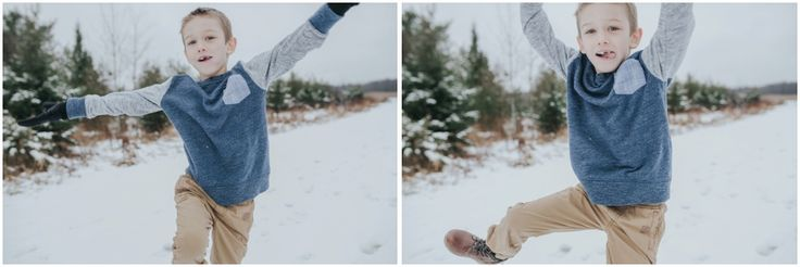 Mike and Jessica's winter family session in Cornell, Wisconsin by Darcy Ferris Photography. — Darcy Ferris Photography