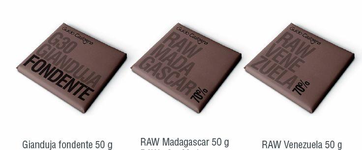 Guido Castagna tavolette di cioccolato Raw