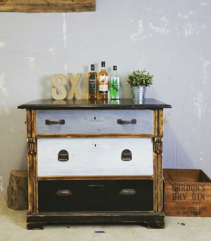 shabby vintage kommode antik loft www shabby vintageloftindustrial - Industrial Vintage Wohnhaus Loft Stil