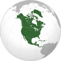 Wikipedia: list of North American Countries