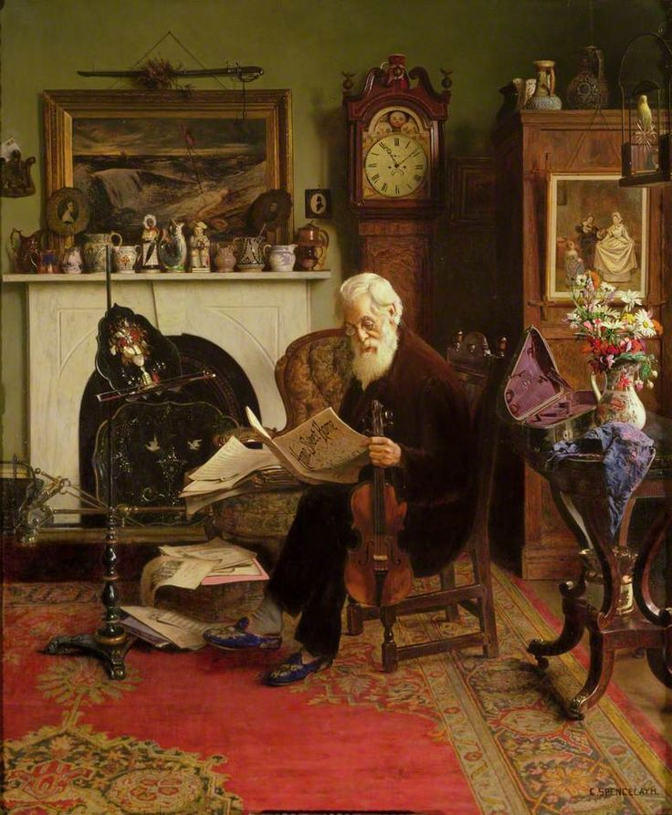 Charles Spencelayh - His favourite