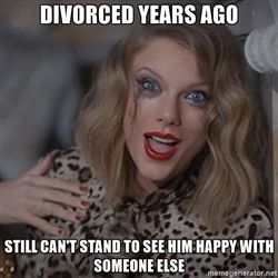 Crazy ex wife