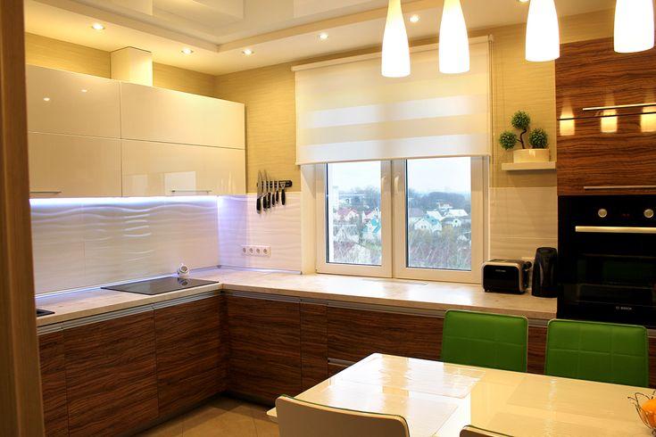 Моя кухня - столешница у окна, чтобы готовить и наслаждаться пейзажем