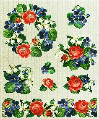 roses and violets 1 #075