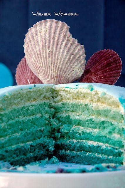 Vienna Wohnsinn: Mermaid Cake Recipe