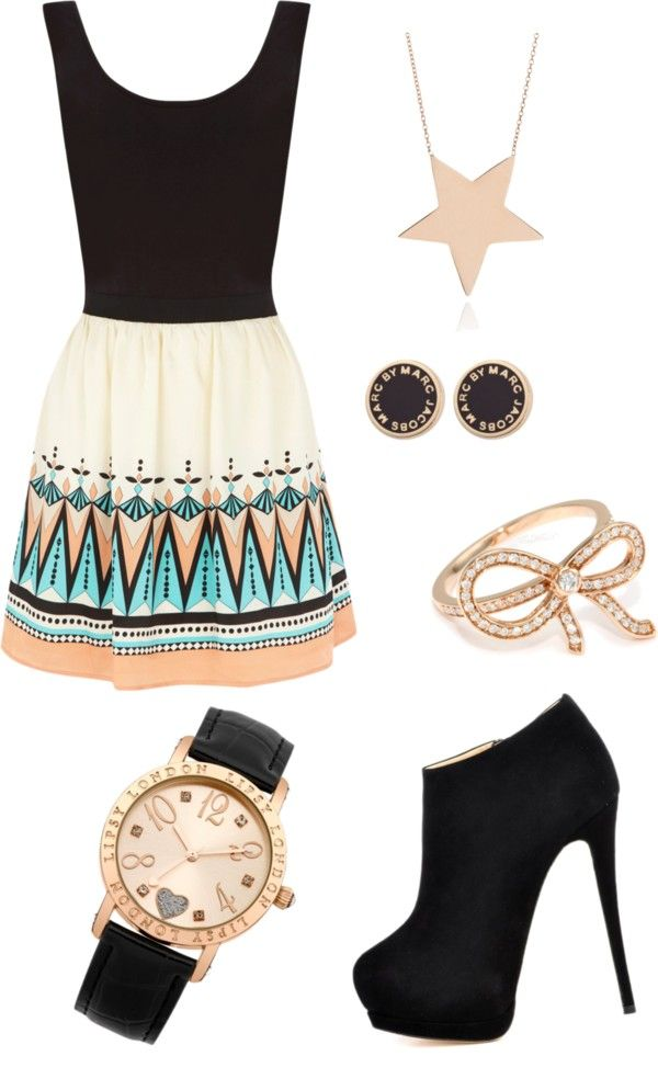 """""""Girly Outfit"""" by weinerichjg on Polyvore"""
