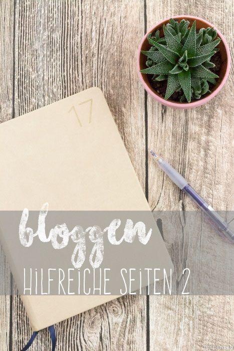 Bloggen Blog hilfreiche Seiten Tipps Tools