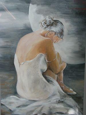 Joanna Wajdenfeld painting acrylic on canvas 40x60
