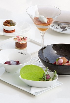 Les grandes desserts at Reflets by Pierre Gagnaire in Dubai