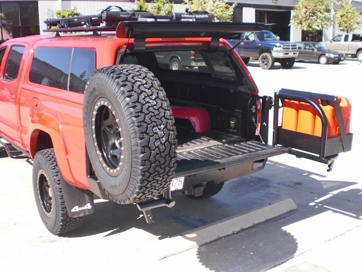 Aluminess Products - Toyota Tacoma Rear Bumper for 2005-2014