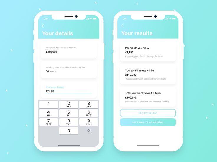 Mortgage Calculator Dailyui 004 Mortgage Calculator Challenge