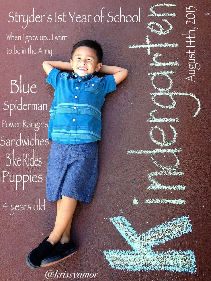 SHOCKED at how many repins this picture has  had!!!!!!!!!!!!! He is a Pinterest sensation and will be so popular!!!! AMAZING!!! Thank you ALL for the love!!!!!!!! Kindergarten photo ideas  First day of kindergarten ✏ Love my Baby!